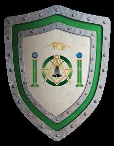 Escudo de la Logia Coris 17