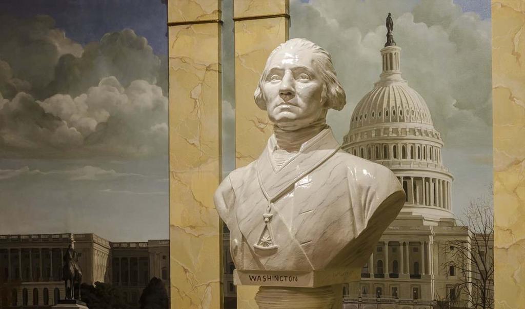 Imagen: GW Masonic Memorial